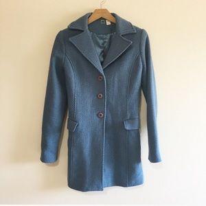 Nordstrom BP Wool Blue Peacoat